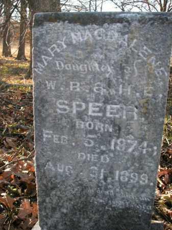 SPEER, MARY MAGDALENE - Boone County, Arkansas   MARY MAGDALENE SPEER - Arkansas Gravestone Photos