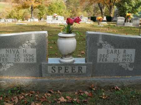 SPEER, EARL R. - Boone County, Arkansas | EARL R. SPEER - Arkansas Gravestone Photos