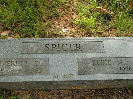 SPICER, ELSIE M. - Boone County, Arkansas   ELSIE M. SPICER - Arkansas Gravestone Photos