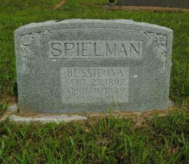 SPIELMAN, BESSIE IVA - Boone County, Arkansas | BESSIE IVA SPIELMAN - Arkansas Gravestone Photos