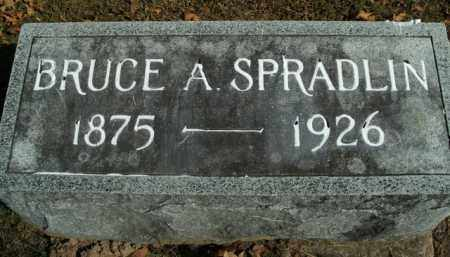 SPRADLIN, BRUCE A. - Boone County, Arkansas | BRUCE A. SPRADLIN - Arkansas Gravestone Photos