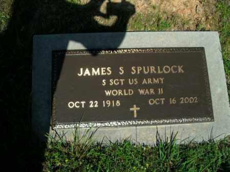 SPURLOCK  (VETERAN WWII), JAMES S. - Boone County, Arkansas | JAMES S. SPURLOCK  (VETERAN WWII) - Arkansas Gravestone Photos