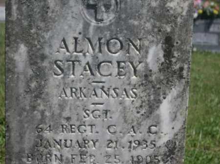 STACEY  (VETERAN), ALMON - Boone County, Arkansas | ALMON STACEY  (VETERAN) - Arkansas Gravestone Photos