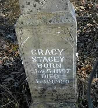 STACEY, GRACY - Boone County, Arkansas   GRACY STACEY - Arkansas Gravestone Photos