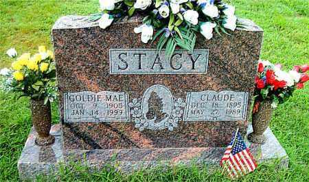 STACY, GOLDIE MAE - Boone County, Arkansas   GOLDIE MAE STACY - Arkansas Gravestone Photos