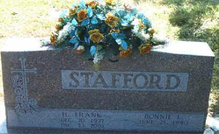 STAFFORD, H.  FRANK - Boone County, Arkansas | H.  FRANK STAFFORD - Arkansas Gravestone Photos