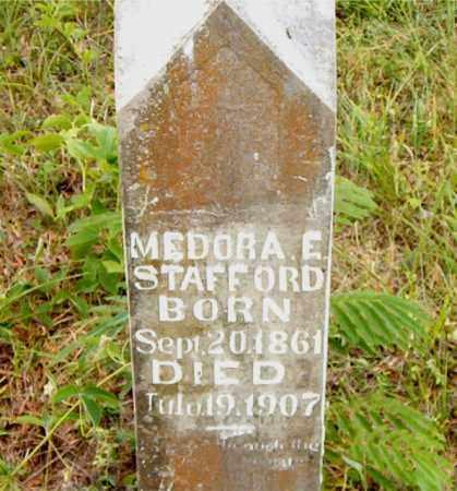 STAFFORD, MEDORA  E. - Boone County, Arkansas   MEDORA  E. STAFFORD - Arkansas Gravestone Photos
