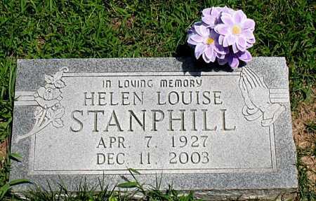 STANPHILL, HELEN LOUISE - Boone County, Arkansas   HELEN LOUISE STANPHILL - Arkansas Gravestone Photos