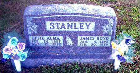 STANLEY, JAMES BOYD - Boone County, Arkansas   JAMES BOYD STANLEY - Arkansas Gravestone Photos