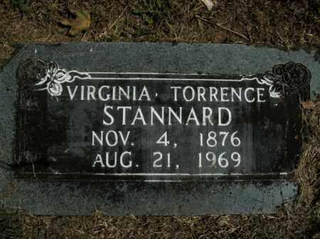 STANNARD, VIRGINIA - Boone County, Arkansas | VIRGINIA STANNARD - Arkansas Gravestone Photos