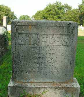 STAPLES, EMILINE - Boone County, Arkansas   EMILINE STAPLES - Arkansas Gravestone Photos