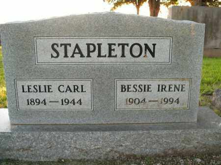 STAPLETON, LESLIE CARL - Boone County, Arkansas | LESLIE CARL STAPLETON - Arkansas Gravestone Photos