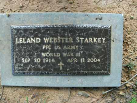STARKEY  (VETERAN WWII), LELAND WEBSTER - Boone County, Arkansas | LELAND WEBSTER STARKEY  (VETERAN WWII) - Arkansas Gravestone Photos