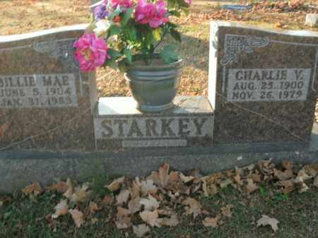 STARKEY, CHARLIE V. - Boone County, Arkansas | CHARLIE V. STARKEY - Arkansas Gravestone Photos