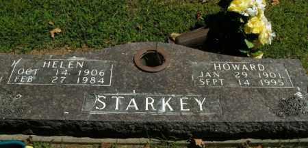 STARKEY, HOWARD - Boone County, Arkansas   HOWARD STARKEY - Arkansas Gravestone Photos