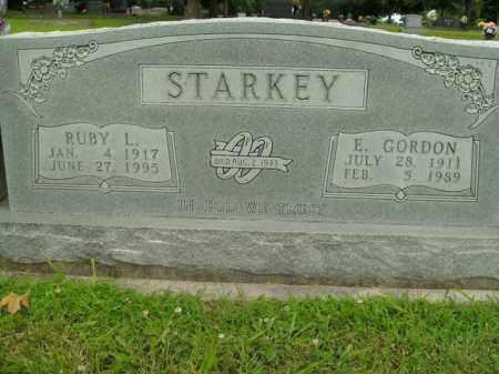 STARKEY, E.GORDON - Boone County, Arkansas | E.GORDON STARKEY - Arkansas Gravestone Photos