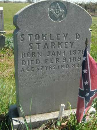 STARKEY, STOKLEY D. - Boone County, Arkansas   STOKLEY D. STARKEY - Arkansas Gravestone Photos