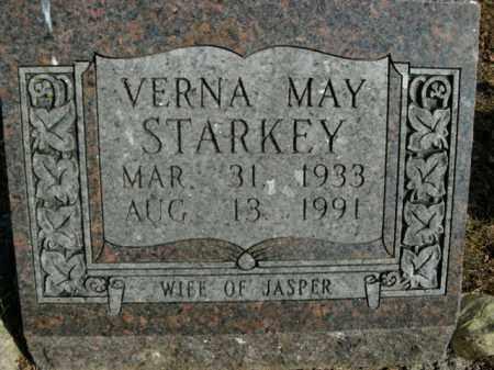 STARKEY, VERNA MAY - Boone County, Arkansas | VERNA MAY STARKEY - Arkansas Gravestone Photos