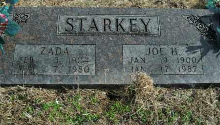 STARKEY, ZADA - Boone County, Arkansas | ZADA STARKEY - Arkansas Gravestone Photos