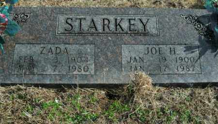 STEPP STARKEY, ZADA - Boone County, Arkansas | ZADA STEPP STARKEY - Arkansas Gravestone Photos