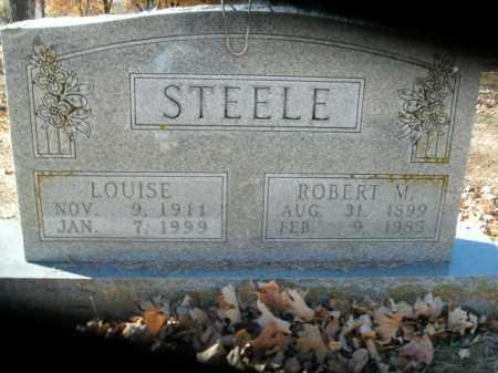 STEELE, LOUISE - Boone County, Arkansas | LOUISE STEELE - Arkansas Gravestone Photos