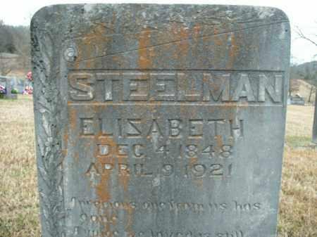 STEELMAN, ELIZABETH - Boone County, Arkansas   ELIZABETH STEELMAN - Arkansas Gravestone Photos