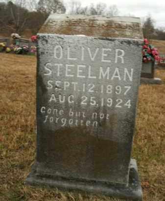 STEELMAN, OLIVER - Boone County, Arkansas   OLIVER STEELMAN - Arkansas Gravestone Photos