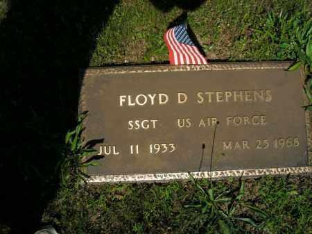 STEPHENS  (VETERAN), FLOYD D. - Boone County, Arkansas | FLOYD D. STEPHENS  (VETERAN) - Arkansas Gravestone Photos