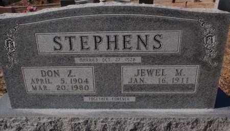 STEPHENS, DON Z. - Boone County, Arkansas | DON Z. STEPHENS - Arkansas Gravestone Photos