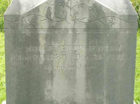 STEPHENSON, NINA E. - Boone County, Arkansas | NINA E. STEPHENSON - Arkansas Gravestone Photos