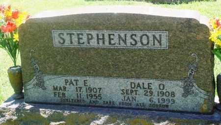 STEPHENSON, PAT E - Boone County, Arkansas | PAT E STEPHENSON - Arkansas Gravestone Photos