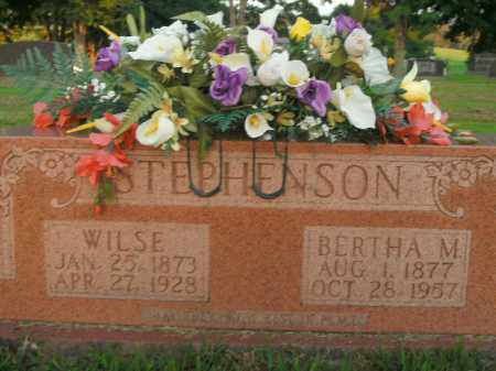 STEPHENSON, BERTHA M. - Boone County, Arkansas | BERTHA M. STEPHENSON - Arkansas Gravestone Photos