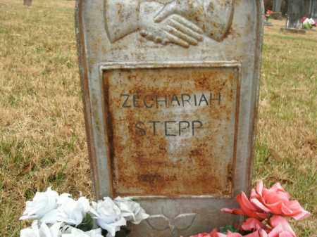 STEPP, ZECHARIAH - Boone County, Arkansas | ZECHARIAH STEPP - Arkansas Gravestone Photos