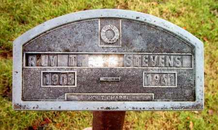 STEVENS, ROY T. - Boone County, Arkansas   ROY T. STEVENS - Arkansas Gravestone Photos