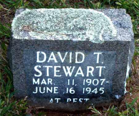 STEWART, DAVID  T. - Boone County, Arkansas   DAVID  T. STEWART - Arkansas Gravestone Photos