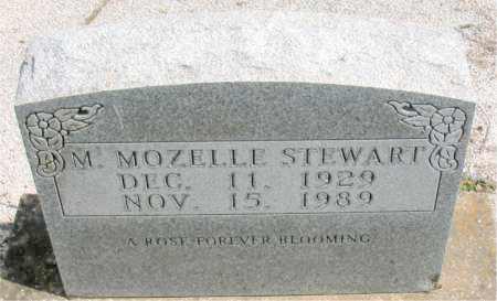 STEWART, MINNIE MOZELLE - Boone County, Arkansas   MINNIE MOZELLE STEWART - Arkansas Gravestone Photos