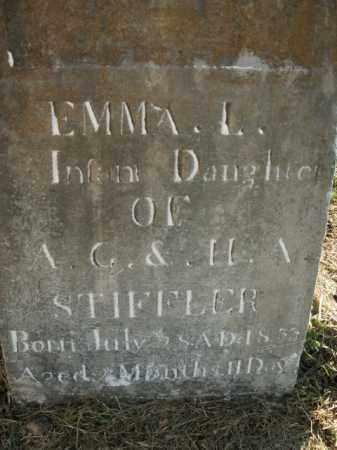 STIFFLER, EMMA L. - Boone County, Arkansas   EMMA L. STIFFLER - Arkansas Gravestone Photos