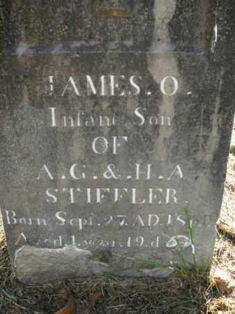 STIFFLER, JAMES O. - Boone County, Arkansas   JAMES O. STIFFLER - Arkansas Gravestone Photos