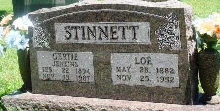 STINNETT, GERTIE - Boone County, Arkansas | GERTIE STINNETT - Arkansas Gravestone Photos