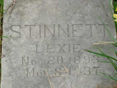 KLEPPER STINNETT, LEXIE - Boone County, Arkansas | LEXIE KLEPPER STINNETT - Arkansas Gravestone Photos