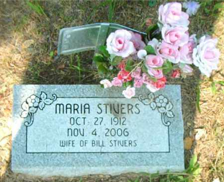 STIVERS, MARIA - Boone County, Arkansas | MARIA STIVERS - Arkansas Gravestone Photos