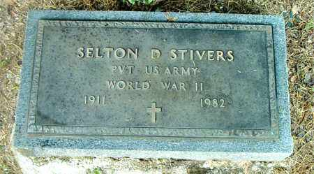 STIVERS  (VETERAN WWII), SELTON D - Boone County, Arkansas | SELTON D STIVERS  (VETERAN WWII) - Arkansas Gravestone Photos