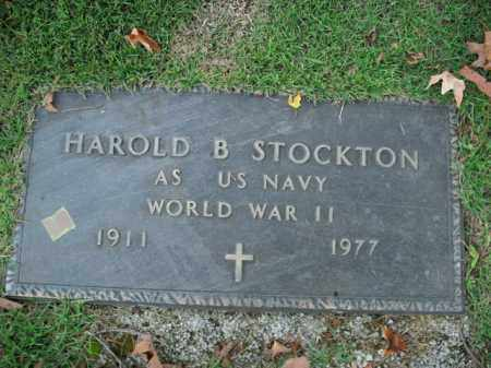 STOCKTON  (VETERAN WWII), HAROLD B - Boone County, Arkansas | HAROLD B STOCKTON  (VETERAN WWII) - Arkansas Gravestone Photos