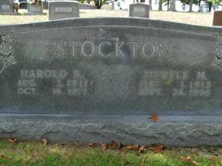 STOCKTON, HAROLD B. - Boone County, Arkansas | HAROLD B. STOCKTON - Arkansas Gravestone Photos