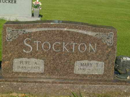 STOCKTON, MARY T. - Boone County, Arkansas | MARY T. STOCKTON - Arkansas Gravestone Photos