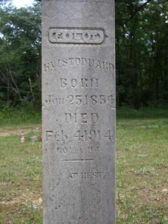 STODDARD, H. W. - Boone County, Arkansas   H. W. STODDARD - Arkansas Gravestone Photos
