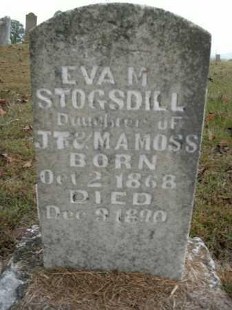 MOSS STOGSDILL, EVA M. - Boone County, Arkansas | EVA M. MOSS STOGSDILL - Arkansas Gravestone Photos
