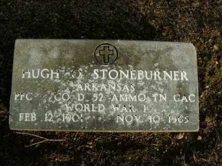 STONEBURNER  (VETERAN WWI), HUGH O - Boone County, Arkansas | HUGH O STONEBURNER  (VETERAN WWI) - Arkansas Gravestone Photos