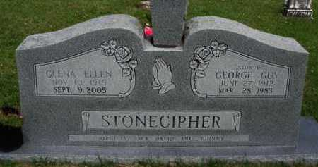 STONECIPHER, GLENA ELLEN - Boone County, Arkansas | GLENA ELLEN STONECIPHER - Arkansas Gravestone Photos