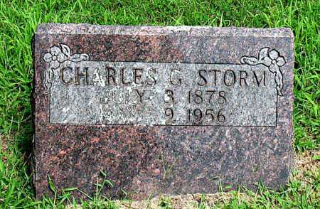 STORM, CHARLES GREEN - Boone County, Arkansas | CHARLES GREEN STORM - Arkansas Gravestone Photos